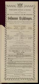 21.2.1904 <<Les>> contes d'Hoffmann [Offenbach, Jacques]