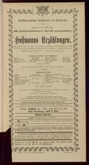 27.5.1904 <<Les>> contes d'Hoffmann [Offenbach, Jacques]
