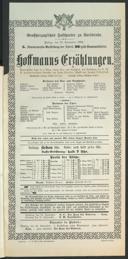 23.9.1904 <<Les>> contes d'Hoffmann [Offenbach, Jacques]