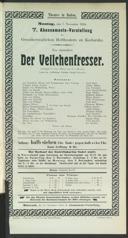 7.11.1904 <<Der>> Veilchenfresser [Moser, Gustav von]