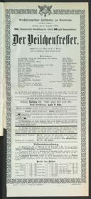 2.12.1904 <<Der>> Veilchenfresser [Moser, Gustav von]