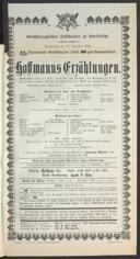 15.12.1904 <<Les>> contes d'Hoffmann [Offenbach, Jacques]