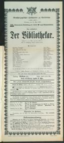 16.5.1905 <<Der>> Bibliothekar [Moser, Gustav von]