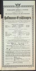 16.1.1906 <<Les>> contes d'Hoffmann [Offenbach, Jacques]