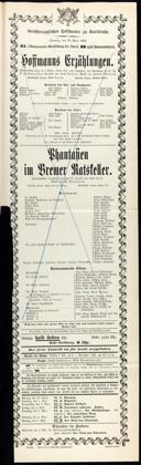 29.4.1906 <<Les>> contes d'Hoffmann [Offenbach, Jacques]