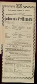 23.12.1906 <<Les>> contes d'Hoffmann [Offenbach, Jacques]
