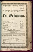 19.5.1841 <<Les>> deux journées ... [Cherubini, Luigi]